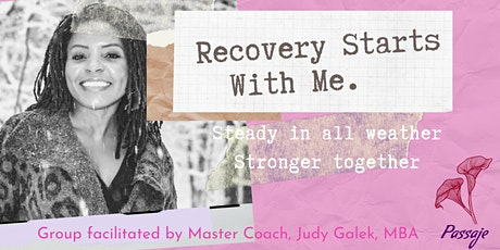 Recovery Starts With Me tickets