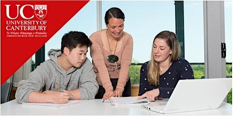 UC International Scholarship Webinar - 21 July tickets