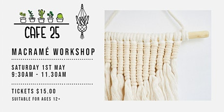 Macramé Workshop   | Cafe 25 tickets