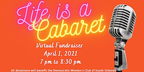 Copy of 1st Annual Democratic Women's Club of South Orange County Cabaret tickets