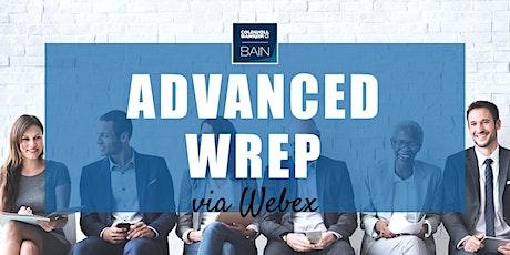 CB Bain   Advanced WREP (30 CH-WA)   Webex   July 7th - Aug 6th 2021 Tickets