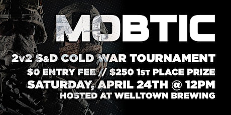 Cold War 2v2 Search And Destroy Tournament tickets