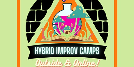 Hybrid Improv Camp: Outside and Online for ages 5 to 7 tickets