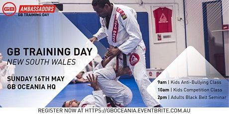 GB Training Day - NSW tickets