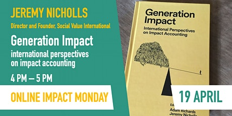 Generation Impact - international perspectives on impact accounting tickets