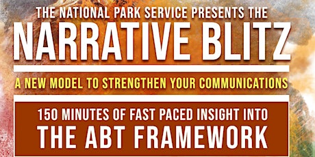 The National Park Service presents the NARRATIVE BLITZ tickets