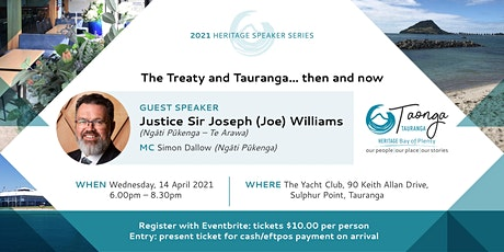 The Treaty and Tauranga...then and now tickets