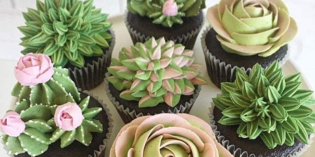 Succulent Cupcake Decorating Party by Kellie Jo's Sweet Treats tickets