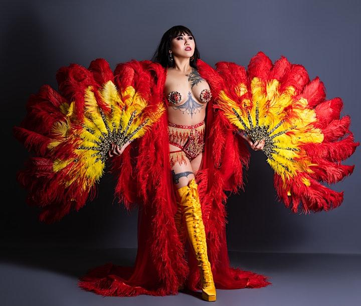 The New York Asian Burlesque Extravaganza, A Virtual Event! image
