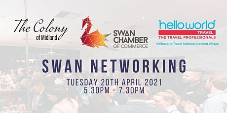 Swan Networking @ The Colony tickets