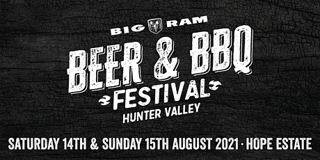 2021 Hunter Valley Beer & BBQ Festival tickets