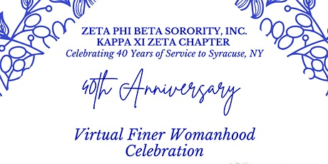 40th Anniversary Finer Womanhood Celebration tickets