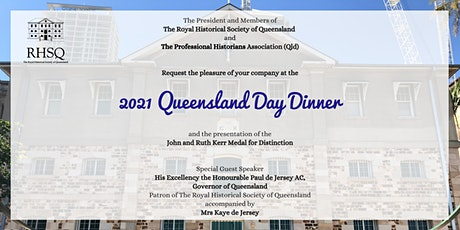 Queensland Day Dinner 2021 tickets