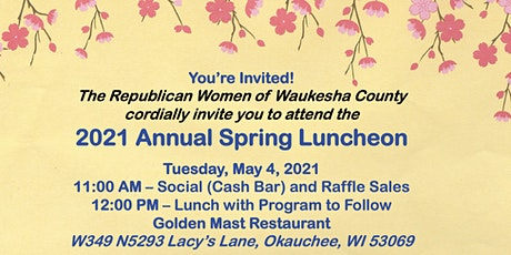 RWWC's 2021 Annual Spring Luncheon tickets