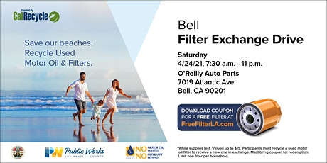 Bell FREE Oil Filter Exchange Drive tickets