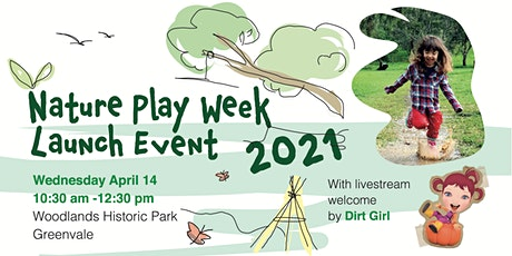 Nature Play Week Launch Event 2021 tickets