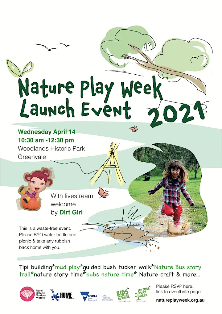 Nature Play Week Launch Event 2021 image