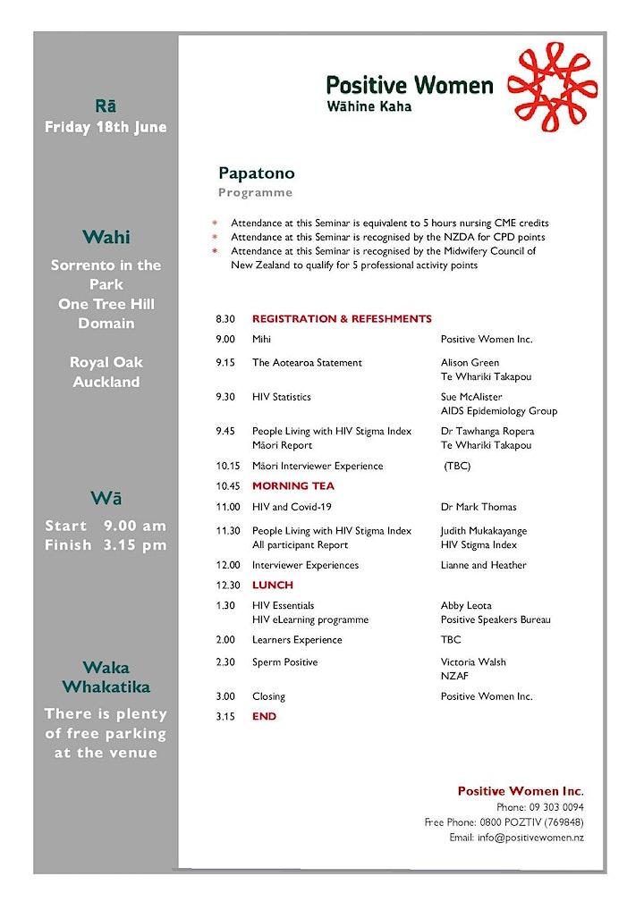 HIV Women's Seminar 2021 image