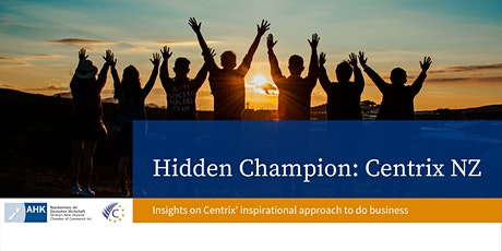 Hidden Champion: Centrix NZ tickets