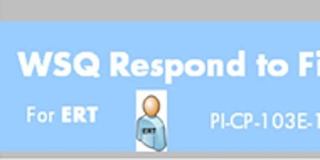 WSQ Respond to Fire Emergency in Buildings (PI-CP-103E-1)Run 195 tickets