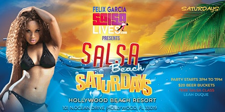 Salsa On The Beach Saturdays @ The Hollywood Beach Resort tickets