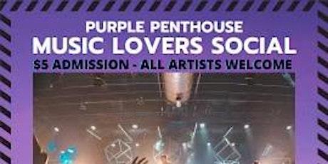 Music Lovers Social tickets