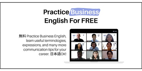 Practice Business English (Online Event) tickets