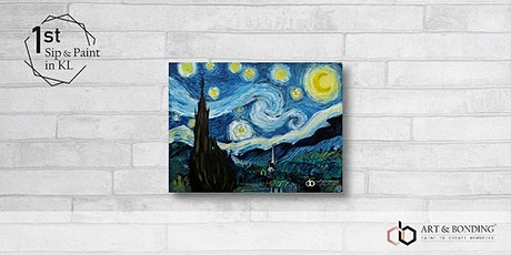 Sip & Paint Night : Starry Night by Van Gogh tickets