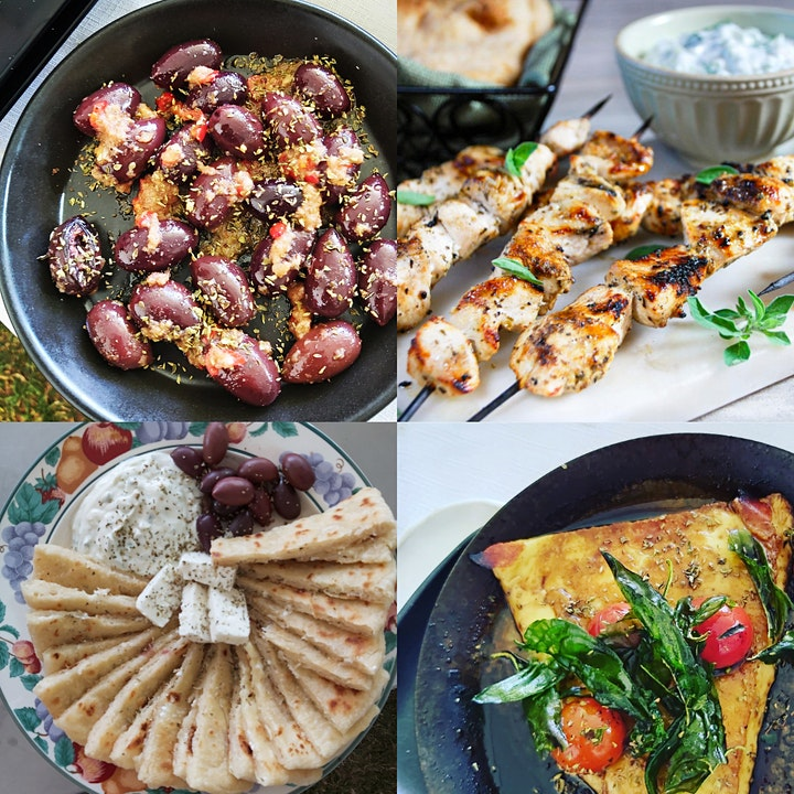 Can't Travel - Come Taste GREECE! Masterclass image