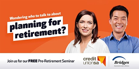 FREE Pre-Retirement Seminar - Online tickets