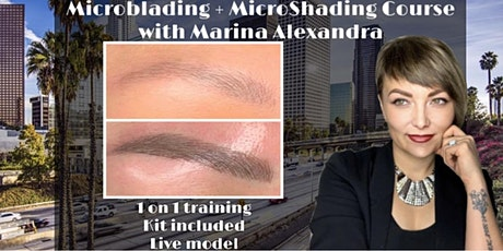 1 ON 1 PRIVATE MICROBLADING CERTIFICATION TRAINING COURSE BILINGUAL CLASS tickets