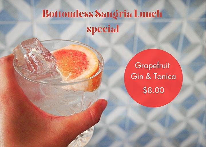 Bottomless Sangria Lunch   8th May image