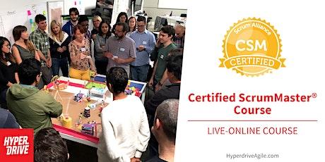 Certified ScrumMaster® (CSM) Live-Online Course (EasternTime) tickets