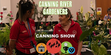 Canning Show Exhibition Feedback Session by Canning River Gardeners tickets