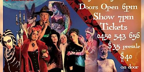 Kooky Spooky Cabaret Maitland tickets
