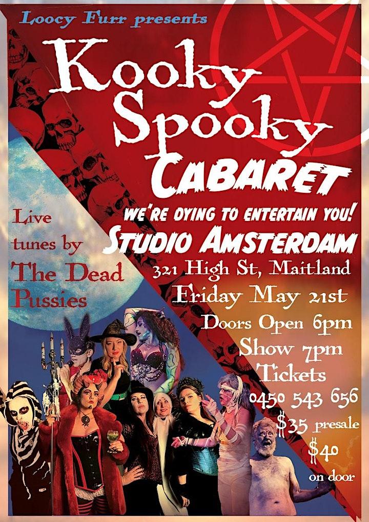 Kooky Spooky Cabaret Maitland image