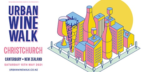 Urban Wine Walk Christchurch tickets