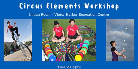 Circus Elements Workshop tickets