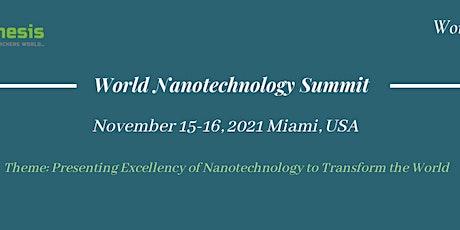 World Nanotechnology Summit tickets