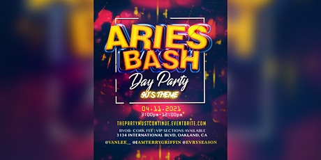 Aries Bash day party tickets