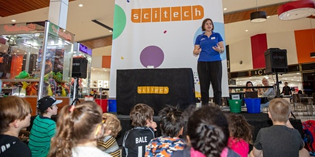 Scitech - Science show - Burning, melting, saving tickets