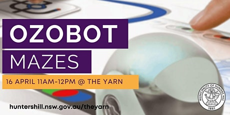 Ozobot Mazes @ The Yarn tickets