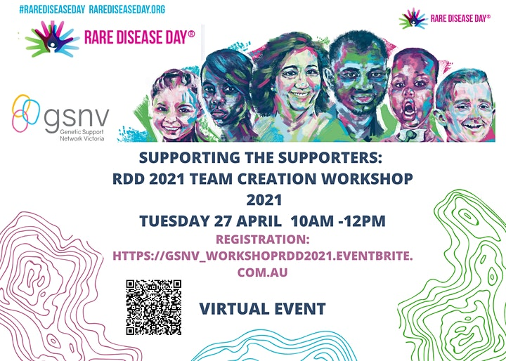 Supporting the Supporters: Rare Disease Day 2021 Team  Creation Workshop image