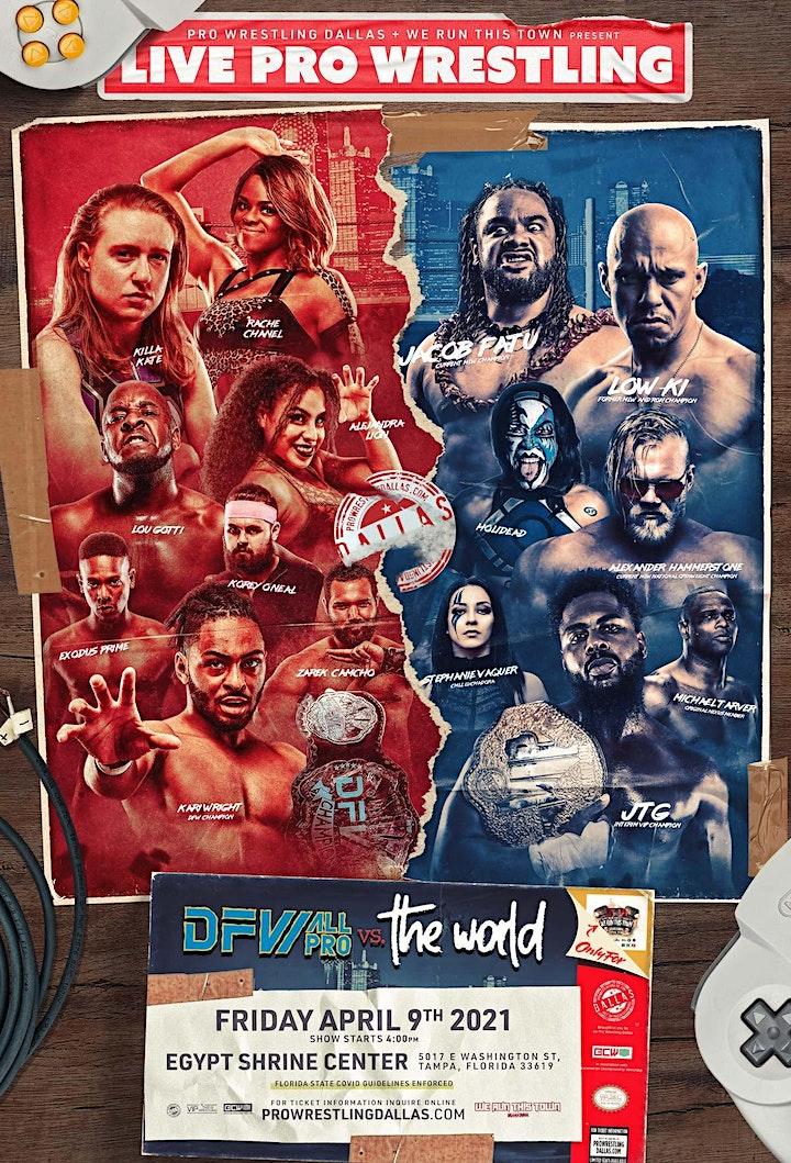 DFW All-Pro vs The World image
