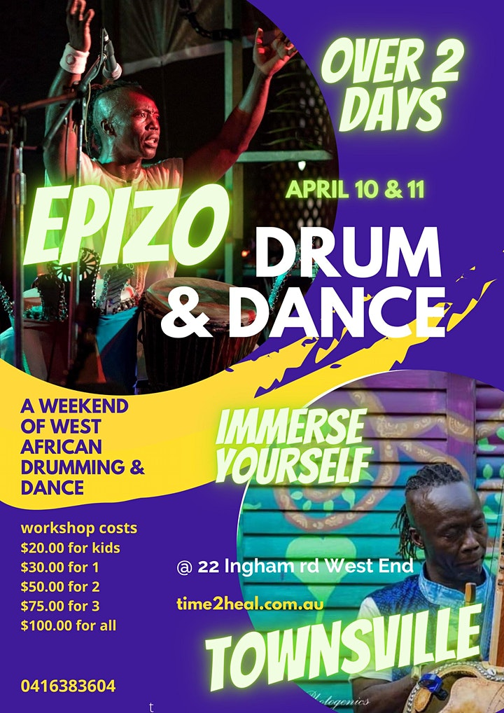 African Drum & Dance weekend Townsville image