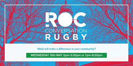 ROC CONVERSATION: Rugby tickets