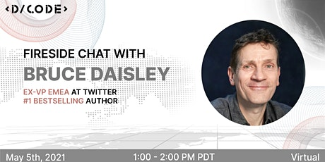 Fireside Chat with Bruce Daisley, Ex-Twitter VP, and #1 Bestselling Author tickets