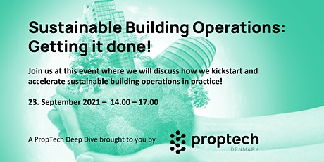 Sustainable Building Operations - Getting it Done! biljetter
