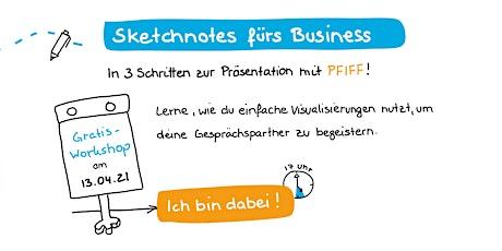 Sketchnotes fürs Business: In 3 Schritten mit Pfiff Präsentieren Tickets