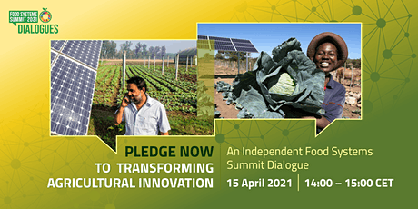 Pledge now to transforming agricultural innovations tickets